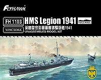 フライホークモデル 1/700 イギリス海軍 HMS L級驅逐艦 リージョン 1941 プラモデル