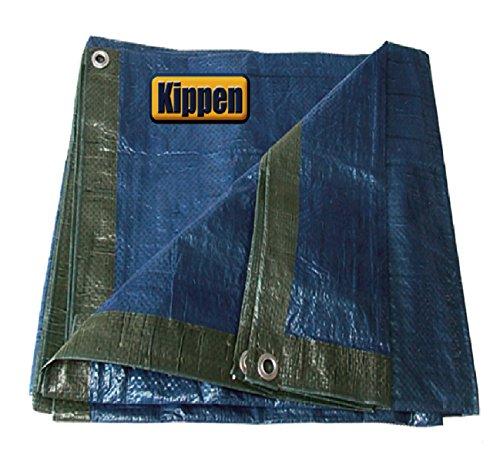 Kippen 6056B Telone Occhiellato, Verde/Blu, 3 x 4 m