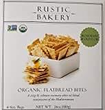 Rustic Bakery Organic Sourdough Flatbread - Rosemary & Olive Oil 24oz