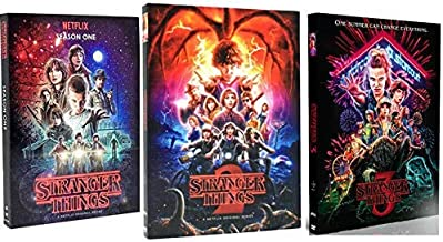 Stranger Things Seasons 1-3 (2019, DVD, 8-Disc Set)