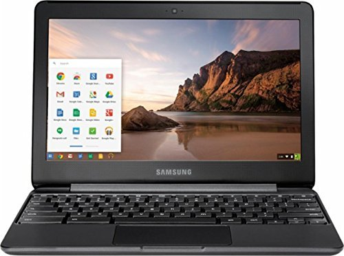 2018 Newest Samsung 11.6 Inch High Performance Chromebook, Intel Celeron N3060, 4GB Memory, 32GB eMMC Flash Memory, Bluetooth 4.0, USB 3.0, HDMI, Webcam, Chrome OS (Renewed)