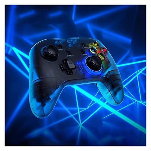 UJETML Controladores T4 Pro Wireless Bluetooth Game Game Gamepad móvil con Soporte telefónico para el Interruptor de/Android/iPhone/PC Controladores de conmutación