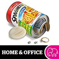 """BigMouth Inc Campbell's SpaghettiOs Can Safe — Great Hiding Place for Storing Valuables, 3"""" x 3"""" x 4.5"""""""