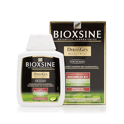 Frauen Shampoo - gegen Haarausfall | mit pflanzlichem Haarwaschmittel das Haarwuchs beschleunigen | schnelles Haar-wachstum | Haarwuchs-mittel 300 ml | von Bioxsine