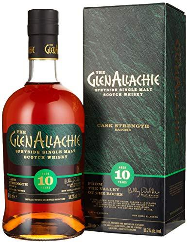 GlenAllachie 10 Jahre - Batch 3 - Cask Strength Single Malt Whisky (1 x 0.7 l)