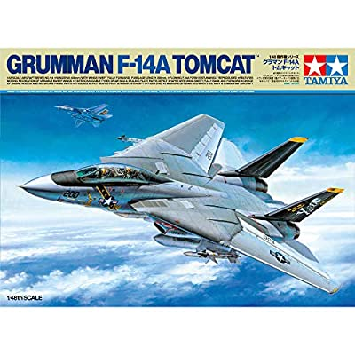 Tamiya TAM61114 1/48 Grumman F-14A Tomcat Plastic Model Airplane Kit