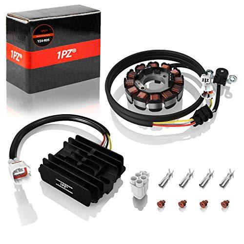1PZ YZ4-R05 Magneto Generator Stator Voltage Regulator Charging System Replacement for Yamaha YFZ450 2004-2013 5TG-81410-01-00 5TG-81410-00-00 5TG-81410-02-00