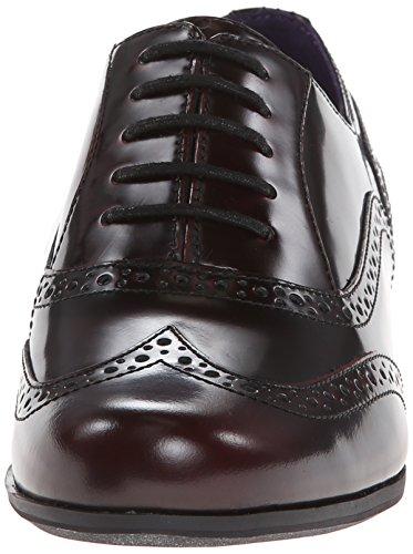 Clarks Women's Hamble Oak Dark Tan Leather Oxford 8.5 B (M)