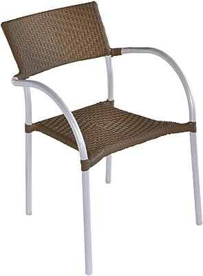 Keter - Silla reclinable de jardín Vermont, Color gris ...