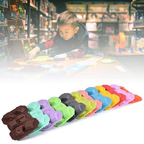 1 stuk bakvorm voor auto, koekjes, snoepjes, chocolade, siliconen vorm, fondant