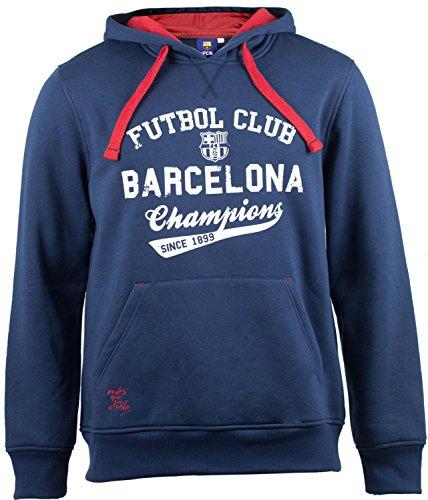 FC Barcelona Barça, trui met capuchon voor heren, officiële collectie, maat voor volwassenen