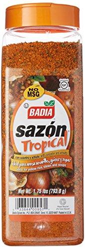 Badia Sazón Tropical with Annatto & Coriander 1.75 lbs