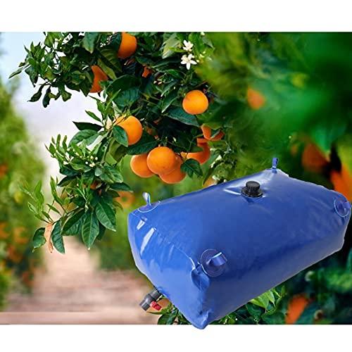 GDMING Portátil Bolsa De Almacenamiento De Agua, Emergencia Recipientes De Agua De PVC, Plegable Ahorra Espacio Ducha Solar, Exterior Resistente Al Clima Depósito De Agua, Personalizable
