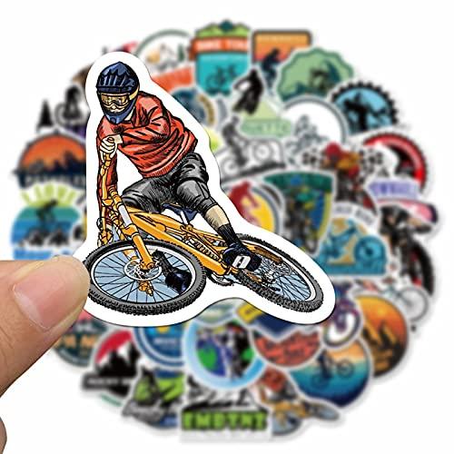 YMSD 50pcs bicicleta de montaña personalizada graffiti etiqueta taza de agua Skateboard portátil maleta etiqueta