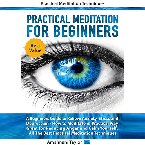 Practical Meditation for Beginners: A Beginners Guide to Relieve Anxiety, Stress and Depression.: How to Meditate in Practical Way. Great for Reducing Anger and Calm Yourself. All the Best Practical Meditation Techniques