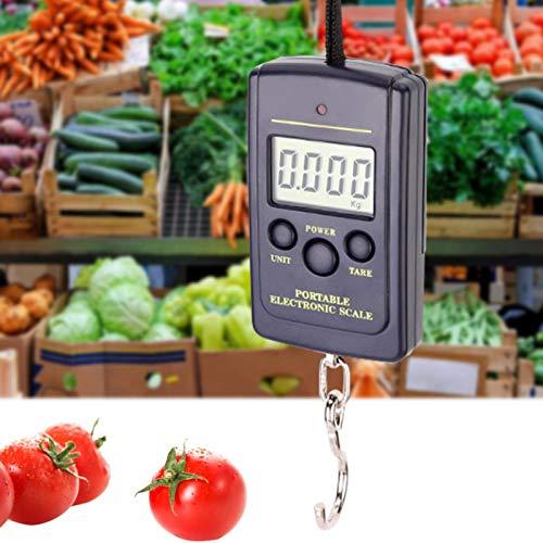 Función de bloqueo Báscula de precisión Báscula electrónica Báscula portátil duradera precisa para la cocina del restaurante en casa