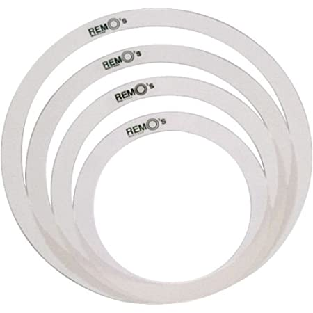 Accessoires batteries REMO RO-2346-00 - PACK SOURDINES MUFFLE RING TONE CONTROL 12/13/14/16 Peaux tom - caisse claire