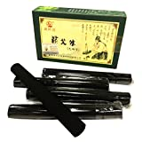 Erencook 10 Pcs Original Pure High Penetration Smokeless Moxibustion Sticks Moxa Stick Artemsia Argyi