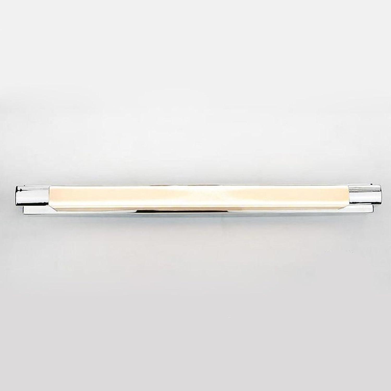 Spiegelleuchte LED Spiegel Scheinwerfer, Schminktisch Moderne Badezimmer Wandleuchten Edelstahl Acryl LED Spiegellicht (Farbe   Neutral-7w 45cm)