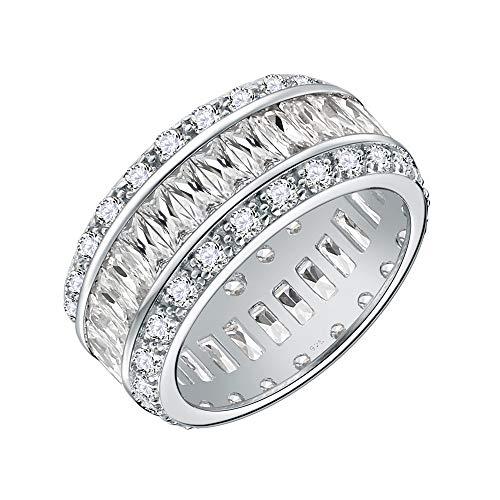 6 G Macizo Sterling plata 925 anillo Anillo de banda unisex sencillamente pulido aprox