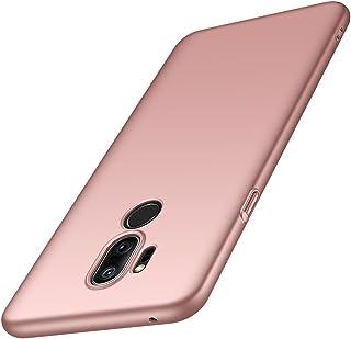 ORNARTO Funda LG G7, G7 Carcasa [Ultra-Delgado] [Ligera] Mate Anti-arañazos y Antideslizante Protectora Sedoso Caso para LG G7 ThinQ(2018) 6.1' Oro Rosa