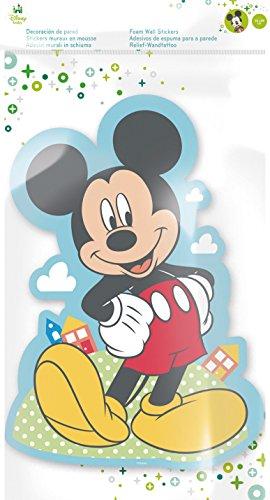 Stor Disney-Relief décoratif Motif Mickey 50 x 29 cm