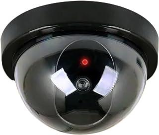 MODAVELA Camara Falsa De Seguridad Simulada Domo con Led Vig