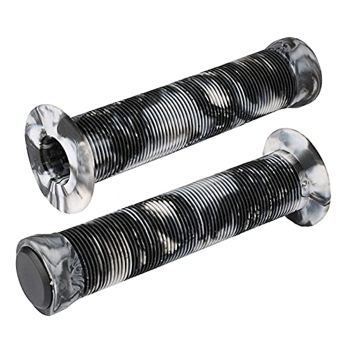 YYOMXXOM Pro Scooter Grips 145mm Soft sin flangnes Longneck Agarra para PROCIT SCUNT Scooter ARIGHT Y BMX Bikes Bars (Color : Black and White)