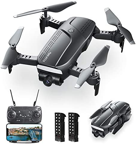 Drones with Camera for Adults Fcoreey Foldable Drone with 1080P HD Camera FPV Live Video for product image