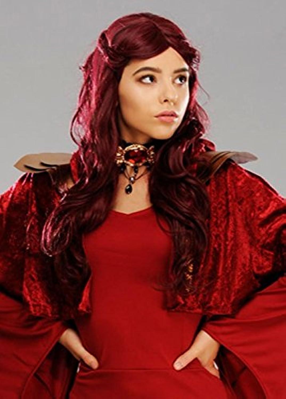 están haciendo actividades de descuento Magic Box Box Box mujer Deluxe Lady Melisandre Style Peluca Mujer Roja  mejor calidad mejor precio