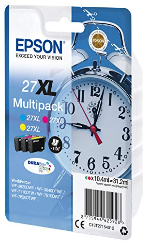 EPSON Alarm Clocks Ink Cartridge for WorkForce WF-7620DTWF Series - Yellow/Magenta/Cyan