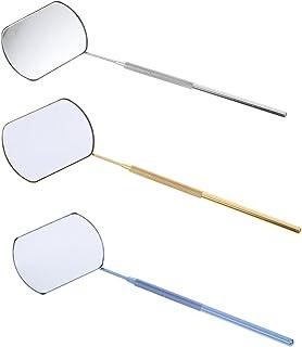 Beaupretty Grande Espelho para Extensões Da Pestana Do Chicote Espelho de Inspeção de Extensão Dos Cílios Cílios Ferrament...