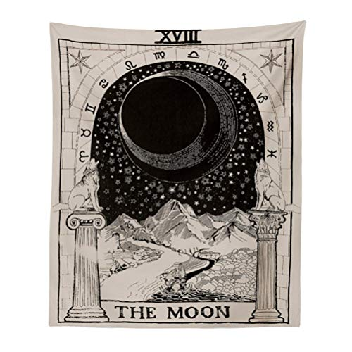 Europa Divination Tapestry Der Mond The Star The Sun Tapisserie Wandbehang Tapisserie Mysterious Haus Bedroon Decor