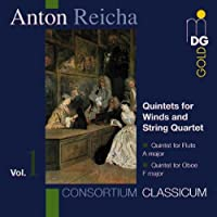 Reicha: Quintets for Winds and String Quartet, Vol. 1 - Consortium Classicum (1995-08-22)