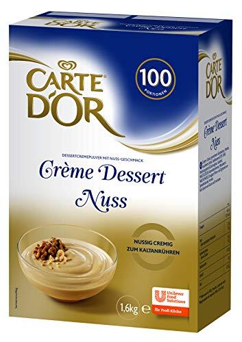 Carte D\'Or\nCreme Dessert Nuss\n(cremiges Dessertpulver)\n1er Pack (1 x 1,6 kg)
