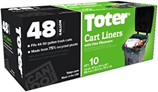 Toter Outdoor Trash Can Liner, 48 Gallon