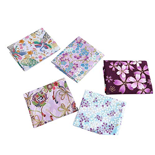 5pcs Felt Fabric Sheets, Bronzing Textile Fabrics Sewing Quilting Scrapbooking DIY Handmade For Sewing Needlework Handmade Accessories 20x25cm