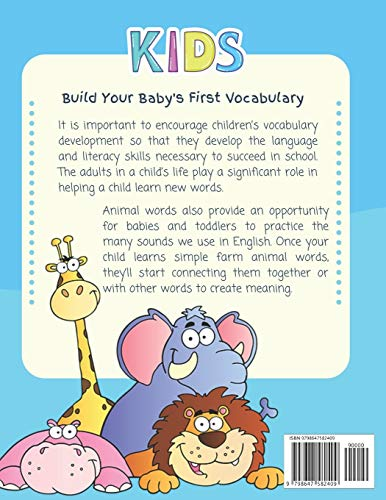 Colorful Large Animals Flashcards for Babies Toddlers English Bengali Dictionary for Kids: My baby first basic words flash cards learning resources ... language. Animal encyclopedias for children