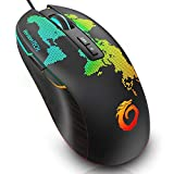 VersionTECH. PC Gaming Mouse USB Wired Optical Computer Mouse Mice with 16.8 Million RGB Color Backlit, 6400 DPI Adjustable, Ergonomical Grip, 7 Buttons for Windows Games & Work