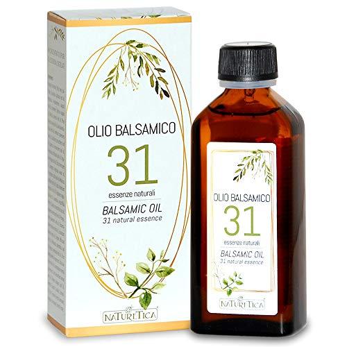 Olio Balsamico 31 Essenze Naturali 100 Milliliter - Naturetica