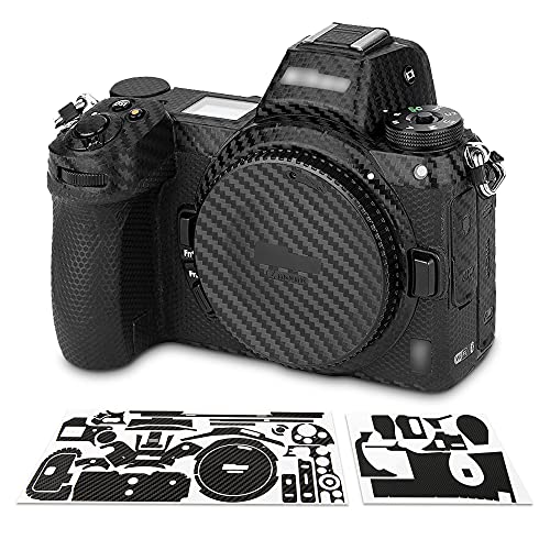 カーボンファイバーフィルム Nikon ニコン Z7 Z6 適用 ミラーレスカメラ保護 ホルード感を高める カメラボデーを飾る