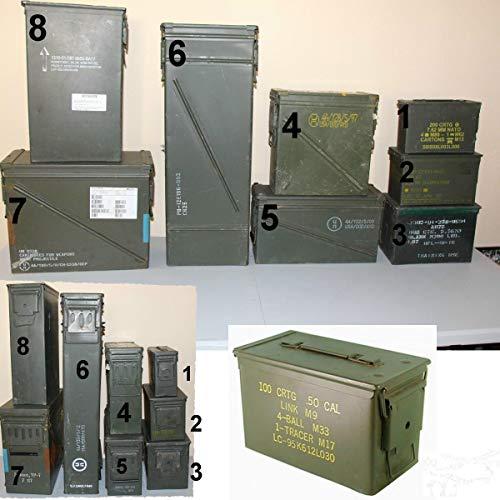 SK Bundeswehr Munitionskiste abschließbar gebr. (Gr. 7)
