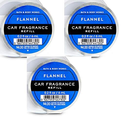 Bath & Body Works Flannel Scentportable - Set of 3 Scentportable Refill Discs