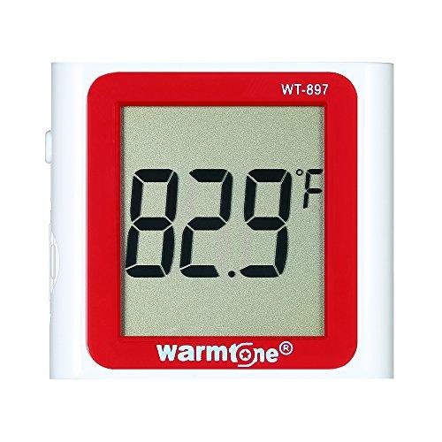 Galapara LCD digitale thermometer waterdichte aquarium temperatuurmeter 0 ° C ~ 40 ° C / 32 ° F ~ 104 ° F