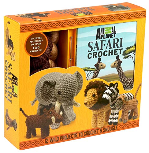 Compare Textbook Prices for Animal Planet Safari Crochet  ISBN 9781684121915 by Galusz, Kati