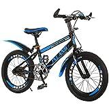 MIAOYO Bike per Bambini, Bici per Bambini, V-Freno, Alluminio 18 20 22 Pollici 6-9 Anni Bambini Bicicletta Giovanile per Ragazzi e Ragazze,Blu,20inch