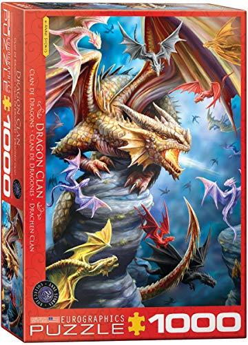 EuroGraphics Puzzle Drachen Clan von Ann Stokes