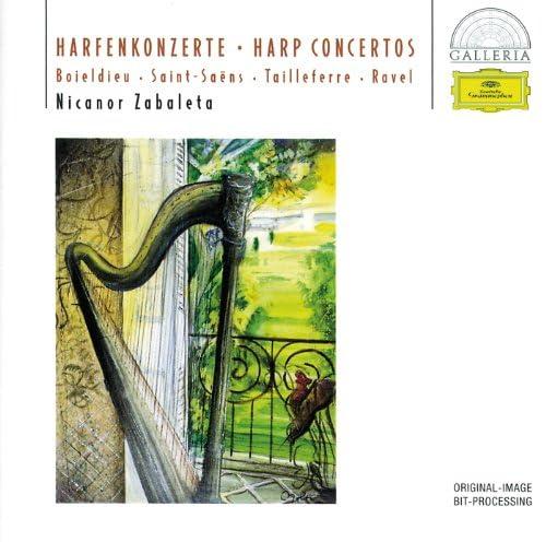 Nicanor Zabaleta, Radio-Symphonie-Orchester Berlin, Ernst Märzendorfer, Orchestre National De L'Ortf & Jean Martinon