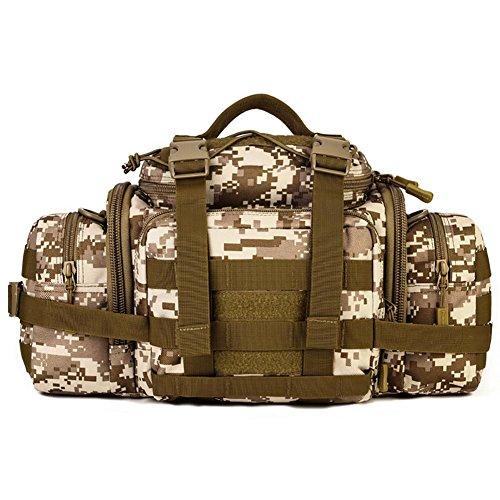 GAOHAILONG Poches extérieures Plus Utilisation Caméra Sac de Taille Messenger Bag Riding 40 * 25 * 18cm, 3