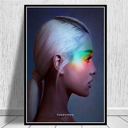 Ariana Grande No Tears Left To Cry Canvas Poster Print